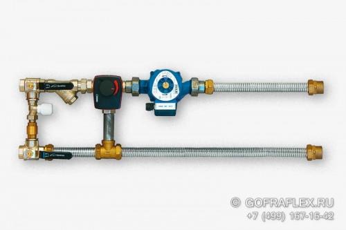 Гофрированная труба из нержавеющей стали для кондиционеров и фанкойлов