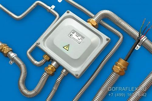 металлорукав для электропроводки